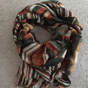H&M Fall Colored Scarf